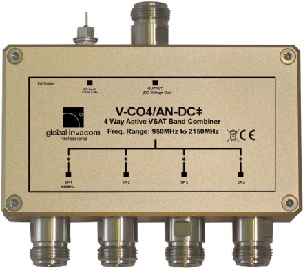 VSAT 4 Way Active Combiner